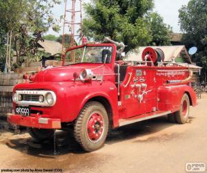puzzel Brandweerwagen, Birma