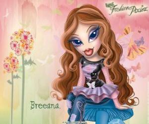 """puzzel Breeana is een verlegen en eenzame, heet """"Haditha tot mode"""" zij en haar familie zijn feeën"""