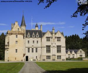 puzzel Brodie Castle in Schotland
