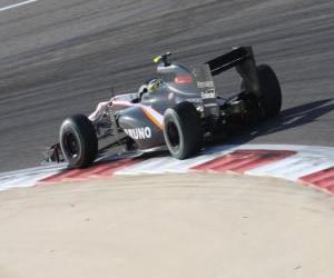 puzzel Bruno Senna - HST - Bahrain 2010