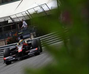 puzzel Bruno Senna-HST - Monte-Carlo 2010