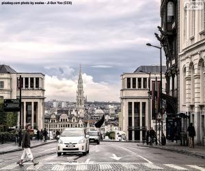 puzzel Brussel, België
