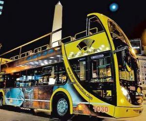 puzzel Buenos Aires Tourist Bus
