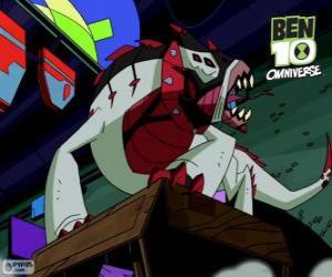 puzzel Buglizard is de Nemetrix Aliens, Ben 10 Omniversum