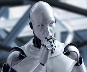 puzzel Buitenaardse robot