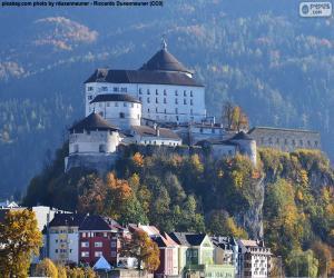 puzzel Burcht van Kufstein, Oostenrijk
