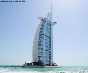 puzzel Burj Al Arab Hotel
