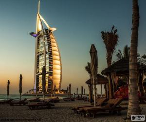 puzzel Burj Al Arab Jumeirah, Dubai