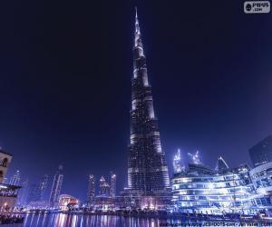 puzzel Burj Khalifa, Dubai