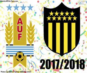 puzzel CA Peñarol, kampioen van Clausura 2018