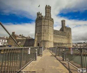 puzzel Caernarfon Castle, Wales