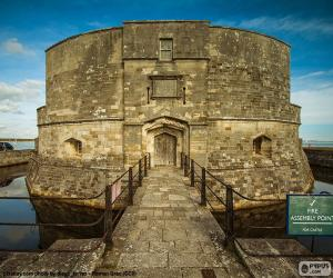 puzzel Calshot kasteel, Engeland