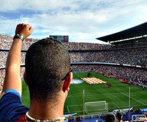 puzzel Camp Nou, Barcelona
