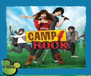 puzzel Camp Rock