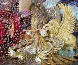 puzzel Carnaval van Santa Cruz de Tenerife, Spanje