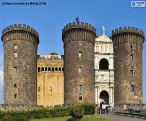 puzzel Castel Nuovo, Italië