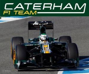 puzzel Caterham CT01 - 2012 -