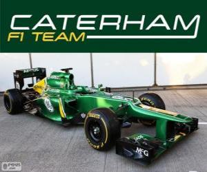 puzzel Caterham CT03 - 2013 -
