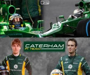 puzzel Caterham F1 Team 2013