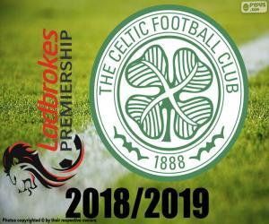 puzzel Celtic FC, 2018-2019 kampioen