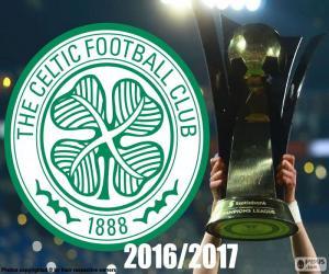 puzzel Celtic FC kampioen 2016-2017