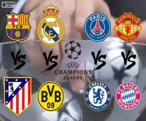 puzzel Champions League - UEFA Champions League 2013-14 Kwartfinale