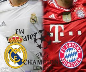 puzzel Champions League - UEFA Champions League halve finale 2013-14, Real Madrid - Bayern