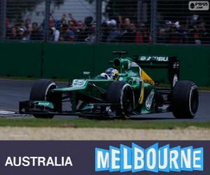 puzzel Charles Pic - Caterham - Melbourne 2013
