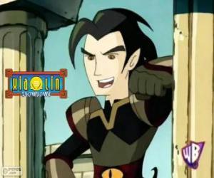 puzzel Chase Young, machtige vijand voor de krijgers Xiaolin
