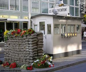 puzzel Checkpoint Charlie, Berlijn