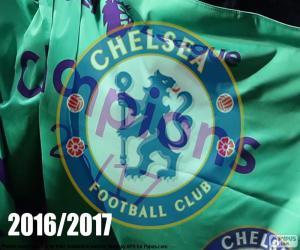 puzzel Chelsea FC kampioen 2016-2017