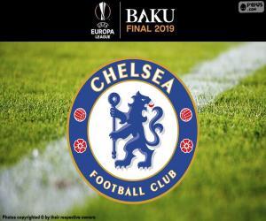 puzzel Chelsea, kampioen Europa League 2019