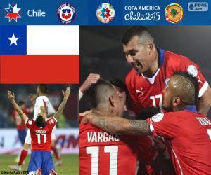 puzzel CHI finalist, Copa America 2015