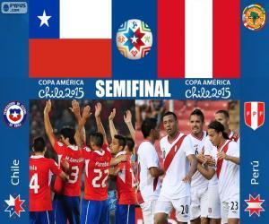 puzzel CHI - PER, Copa America 2015
