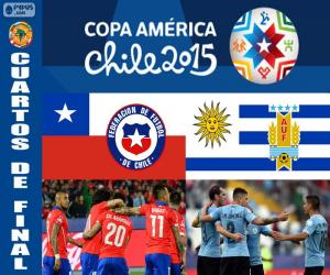 puzzel CHI - URU, Copa America 2015