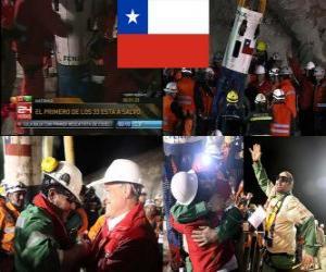 puzzel Chileense mijnwerkers te redden 'happy end'