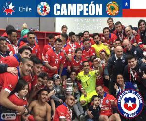 puzzel Chili, Copa America 2015 kampioen