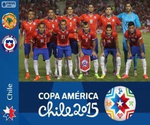 puzzel Chili Copa America 2015