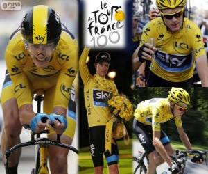 puzzel Chris Froome, Tour de France 2013