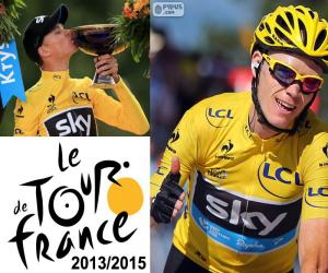 puzzel Chris Froome, Tour de France 2015