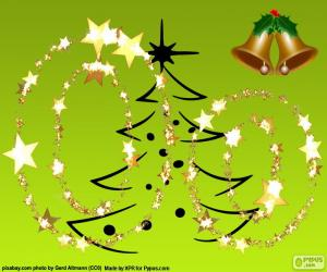 puzzel Christmas letter O