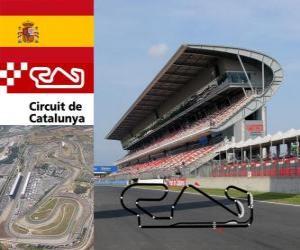 puzzel Circuit de Catalunya - Spanje -
