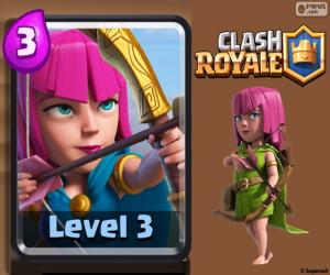 puzzel Clash Royale boogschutters
