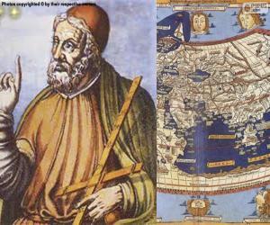 puzzel Claudio Ptolemaeus