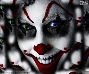 puzzel Clown Halloween