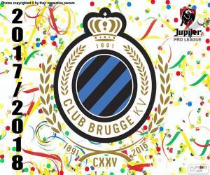 puzzel Club Brugge KV, Pro League 2017-2018