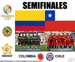 puzzel COL-CHI, Copa America 2016