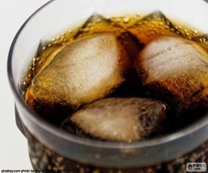 puzzel Cola met ijs