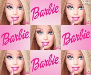 puzzel Collage van Barbie