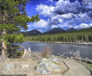 puzzel Colorado rivier, Verenigde Staten
